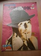 1987 Yugoslavia Comics Magazine Comic Book Humphrey Bogart Politikin Zabavnik Walt Disney Bryan Ferry Roxy Music HAGAR - Books, Magazines, Comics