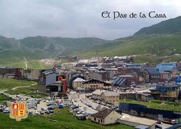 Andorra El Pas De La Casa Aerial View New Postcard - Andorra