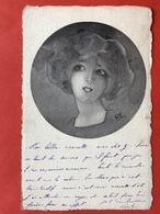 1904 - ART NOUVEAU FEMME - VROUW - Ed CLEMENT, TOURNIER & CIE, GENEVE - Illustrateurs & Photographes