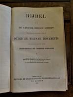Antieke  BIJBEL  De Gansche Heilige Schrift  OUDEN En NIEUWEN  TESTAMENTS  1932 Gedrukt LONDON - Autres