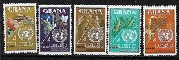 #A50C# GHANA MICHEL 1496/1500 MNH**. SPACE. - Ghana (1957-...)
