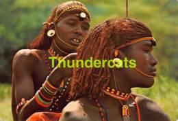 CPSM SAMBURU WARRIORS KENYA KENIA FEMME NU NUE NUDE NAKED LADY GIRL - Kenya