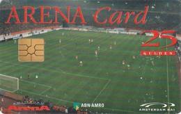 TARJETA FUNCIONAL DE HOLANDA. ARENA CARD. FUTBOL. Prepago › Team On The Field - Gemplus Chip. A022.02a. (353) - Otras Colecciones