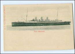Y12322/ Dampfer Fürst Bismarck AK Ca.1900 - Dampfer