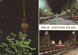 Germany > Berlin > Mitte, UKW Turm, Brandenburger Tor,  Nacht, Gebraucht - Used - Mitte