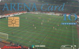 TARJETA FUNCIONAL DE HOLANDA. ARENA CARD. FUTBOL. Prepago › Team On The Field - Gemplus Chip. A022.01a. (352) - Otras Colecciones