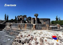 Armenia Zvartnots Temple UNESCO New Postcard Armenien AK - Armenia
