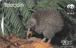 NEW ZEALAND(GPT) - WWF/Little Spotted Kiwi, CN : 501D(normal 0), Tirage 50000, Used - Neuseeland