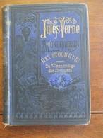 Oud Boek JULES  VERNE Het Stoomhuis De Waanzinnige Der Nerbudda - Anciens