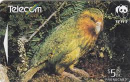 NEW ZEALAND(GPT) - WWF/Kakapo, CN : 501B(normal 0), Used - Neuseeland