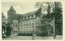 Zeist 1937; Gemeentehuis - Gelopen. (J. Sleding - Amsterdam) - Zeist