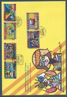 Nations Unies FDC - Premier Jour - Grand Format - L'Education - Emissions Communes - 1999 - Gezamelijke Uitgaven New York/Genève/Wenen