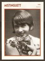 PORTRAIT DE STAR 1925 FRANCE - ACTRICE MISTINGUETT MISTINGUETTE MUSIC HALL - ACTRESS CINEMA FILM - Fotos