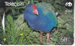 NEW ZEALAND(GPT) - New Zealand Birds/Takahe($50), CN : 491E, Tirage 10000, Used - Neuseeland