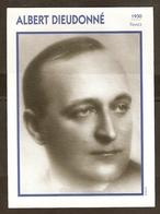 PORTRAIT DE STAR 1930 FRANCE - ACTEUR ALBERT DIEUDONNE - ACTOR CINEMA FILM - Photographs