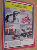 DIV415 : Clipping PAGE DE REVUE TINTIN ANNEES 60 EN COULEURS : DIVERS JEUX ET JOUETS - Other Collections