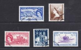 New Zealand 2003 Royalty - Coronation Anniversary Set Of 5 Used - New Zealand