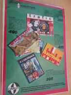 DIV415 : Clipping PAGE DE REVUE TINTIN ANNEES 60/70 EN COULEURS : DIVERS JEUX DE SOCIETES - Group Games, Parlour Games