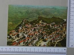 SAN MARINO - PANORAMA -  SAN MARINO -   2 SCANS  - (Nº28798) - San Marino