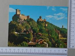SAN MARINO - PANORAMA DELLE TRE TORRI -  SAN MARINO -   2 SCANS  - (Nº28799) - San Marino