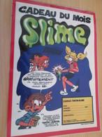 DIV415 : Clipping PAGE DE REVUE TINTIN ANNEES 60/70 EN COULEURS : LE SLIME - Autres Collections