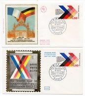 FDC France 1973 - Anniversaire Du Traité Sur La Coopération Franco-Allemande - YT 1739 - Paris - FDC