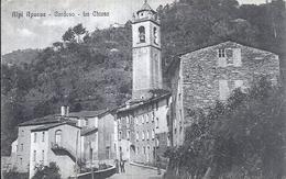 112357 ITALY ALPI APUANE CARDOSO THE CHURCH POSTAL POSTCARD - Italy