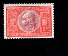 769114022 1949 SCOTT 585  POSTFRIS  MINT NEVER HINGED EINWANDFREI  (XX) LIBERTY - RATIFICATION CONSTITUTION OF 1949 - Argentinien