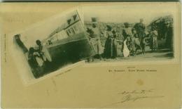CAPE VERDE ISLANDS - ST. VINCENT - NATIVES - 1900s  (BG3409) - Cape Verde