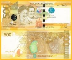 Philippines 500 Piso P-210 2010 UNC Banknote - Philippines