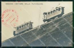 Napoli Città Vesuvio Vetture Funicolare Alterocca 3610 Foto Cartolina MX6274 - Napoli (Naples)