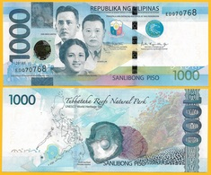 Philippines 1000 Piso P-211 2018F UNC Banknote - Philippinen