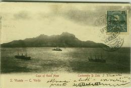 CAPE VERDE - CAPE OF GOOD HOPE - S. VINCENT - CANHONEIRA D. LUIZ . OVERPRINT STAMP - PROVISORIO CABO VERDE 1903 (BG3411) - Cape Verde