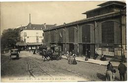 A2 75 PARIS XIX Le Marché De La Rue Bolivar 1915 TBE - District 14