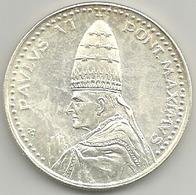 Vaticano, Roma Anno Santo 1975, Papa Paolo VI, Ae. Ag. 16 Gr. 3,5 Cm. - Gettoni E Medaglie