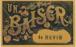 Un Baiser De  REVIN - Cachet De La Poste 1910 - Revin