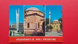 PRISHTINA.Mosque.Church - Kosovo