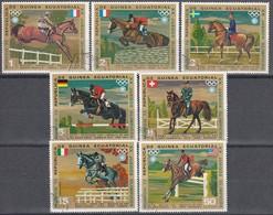 1972 MÜNCHEN - Äquat.Guinea  - MiNr: 126-132 Komplett   Used - Sommer 1972: München