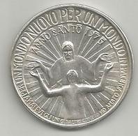 Vaticano, Roma Anno Santo 1975, Rinnovamento E Riconciliazione, Mist. 15 Gr. 3,5 Cm. - Gettoni E Medaglie