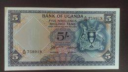 Uganda 1966 5 Shillings High Grade - Uganda