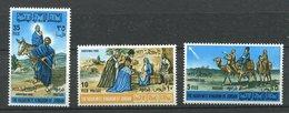 Jordanie ** N° 560 à 563 - Rois Mages - Jordanien