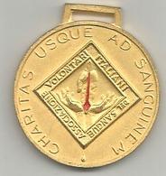 AVIS Vignola 1954 - 1964, Charitas Usque Ad Sanguinem, Mist. Smaltata, 12 Gr. 3,5 Cm. - Professionals/Firms