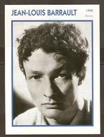 PORTRAIT DE STAR 1935 FRANCE - ACTEUR JEAN LOUIS BARRAULT - ACTOR CINEMA FILM - Fotos