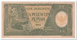 INDONESIA,25 RUPIAH,1964,p.95,AU-UNC - Indonesia
