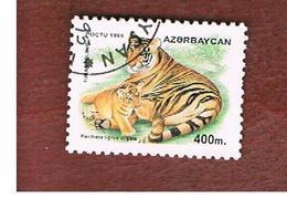 AZERBAIJAN   - SG 285 -  1995 ANIMALS: CASPIAN TIGER  -   USED - Azerbaïjan
