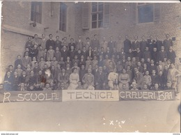 BRA -Scuola  Tecnica Comunale - Studenti Ed Insegnanti - Anni 20 - Originale - Lugares