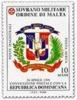 1999 - Sovrano Militare Ordine Di Malta PA 53 Stemma Della Rep. Dominicana - Buste