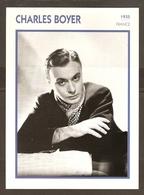 PORTRAIT DE STAR 1935 FRANCE - ACTEUR CHARLES BOYER - ACTOR CINEMA FILM - Fotos
