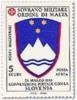 1994 - Sovrano Militare Ordine Di Malta PA 50 Stemma Slovenia - Francobolli