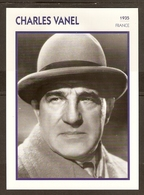 PORTRAIT DE STAR 1935 FRANCE - ACTEUR CHARLES VANEL - ACTOR CINEMA FILM - Fotos